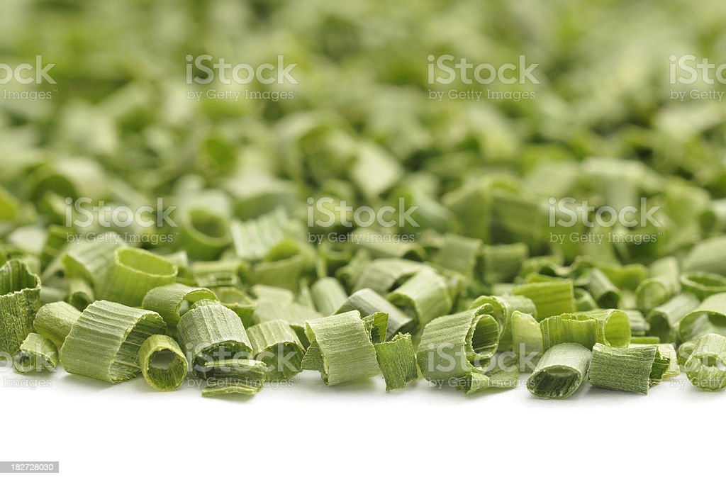 Dried Chive Macro stock photo