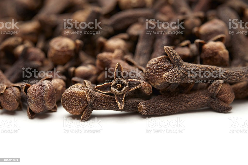 Dried cloves stock photo