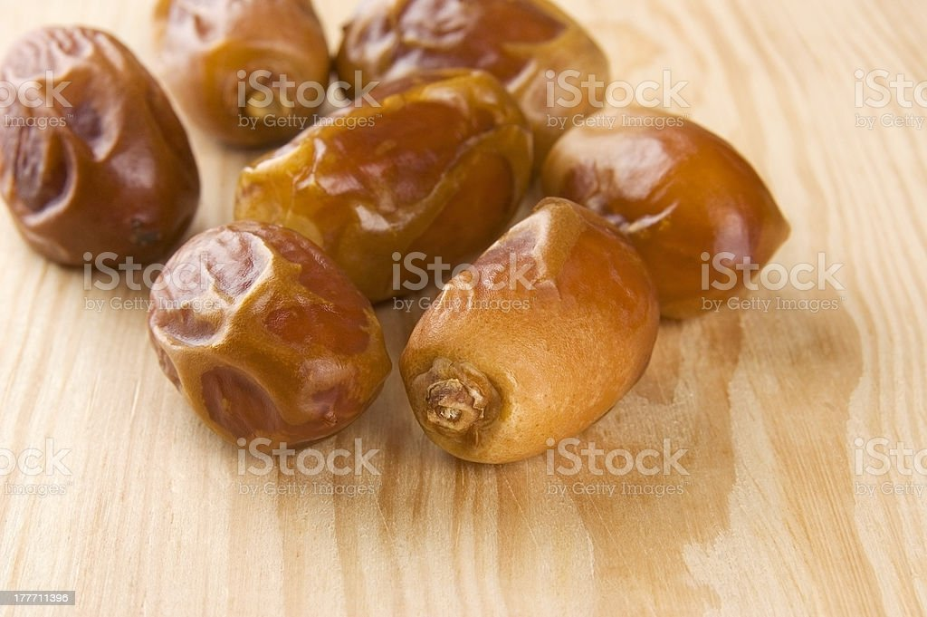 Dried dates royalty-free stock photo