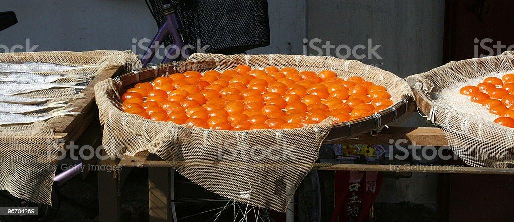 Dried  Egg Yolks royalty-free stock photo