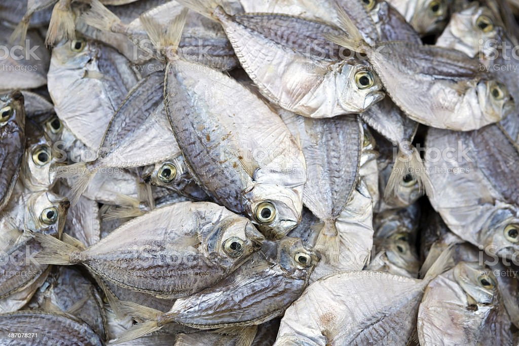 Dried Fish Seafood stock photo