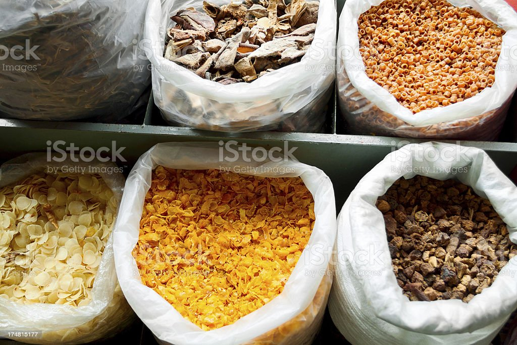 Dried food royalty-free stock photo