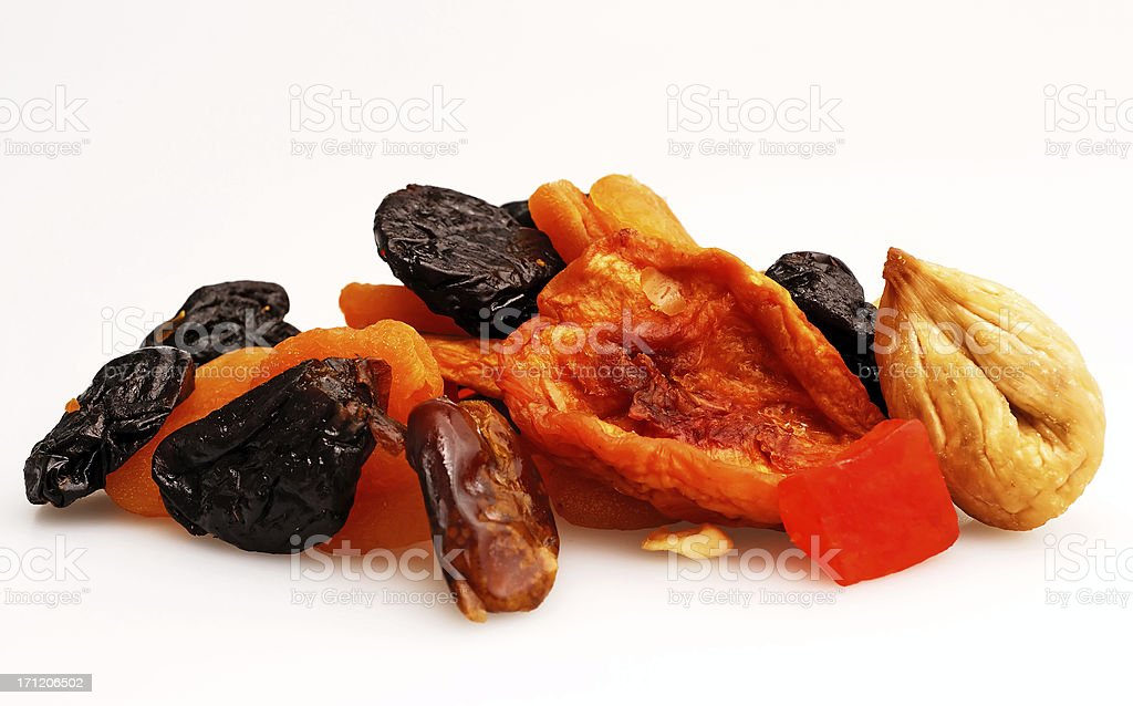 dried fruit royalty-free stock photo