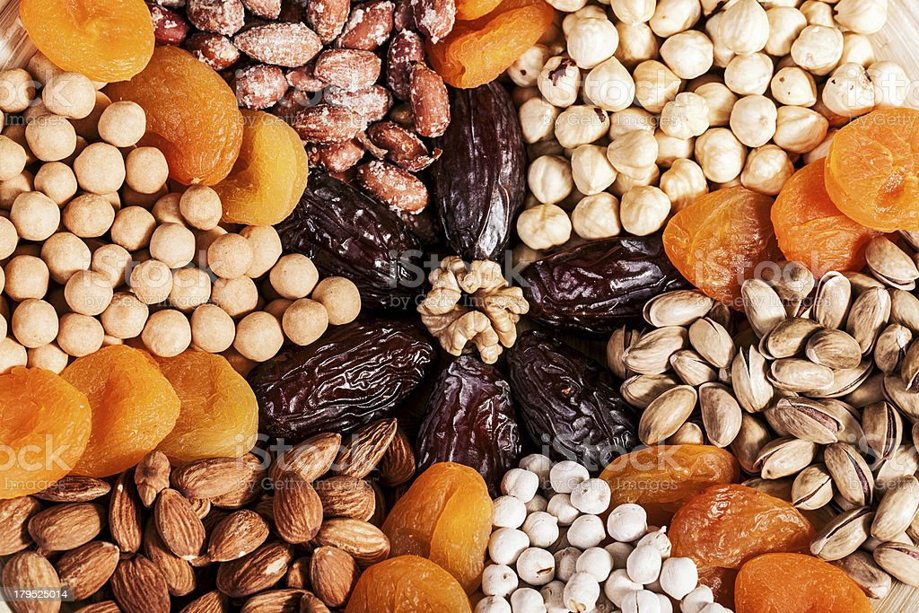 Dried fruits royalty-free stock photo