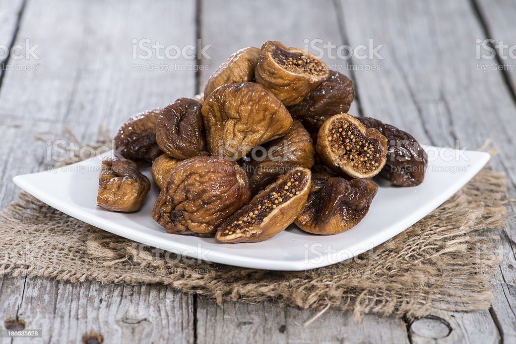 Dried Fruits (Figs) stock photo