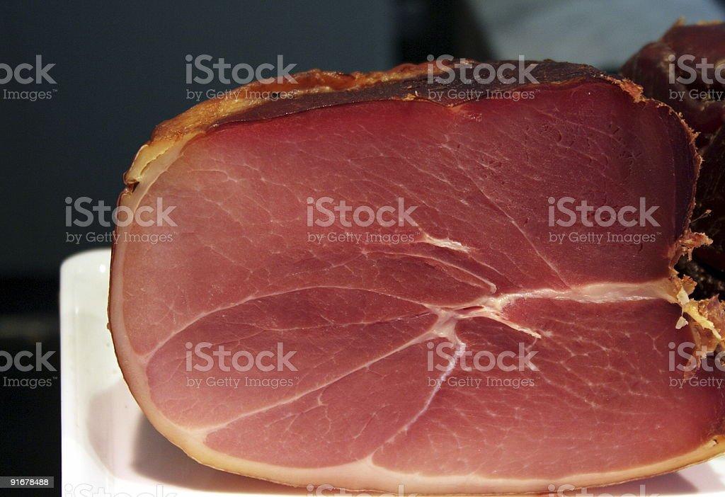 dried ham royalty-free stock photo