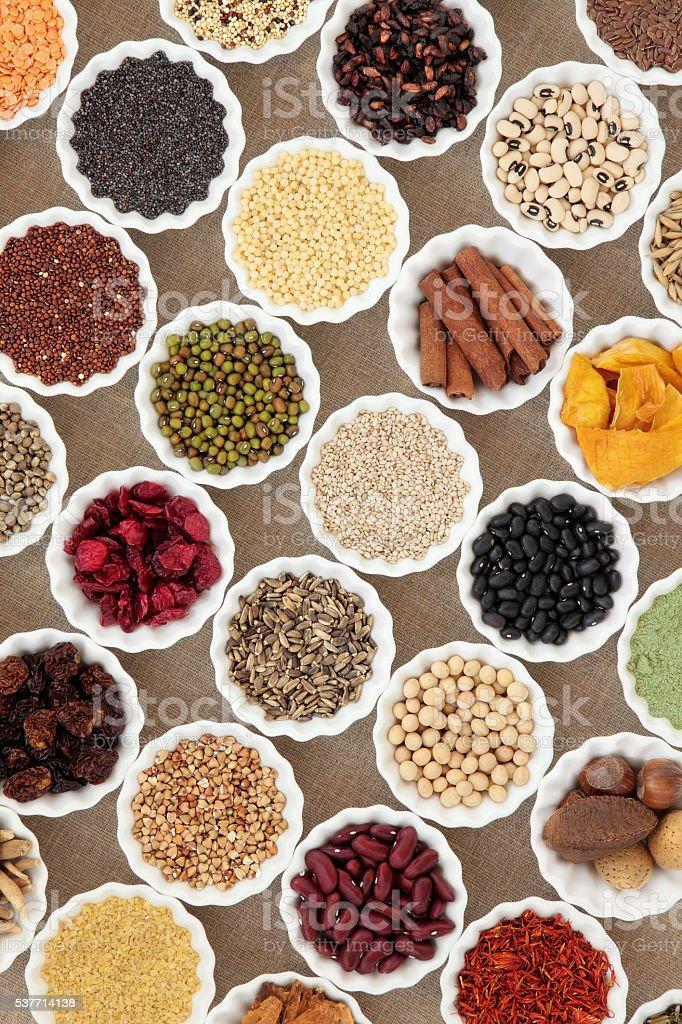 Dried Health Food stock photo