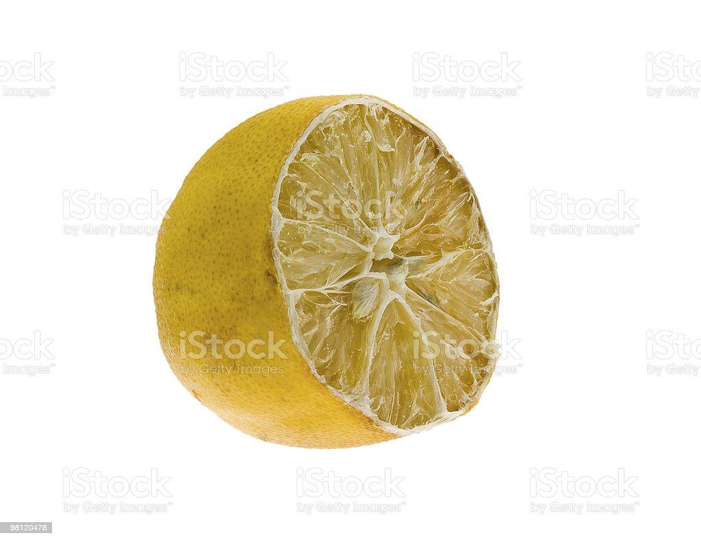 dried lemon royalty-free stock photo