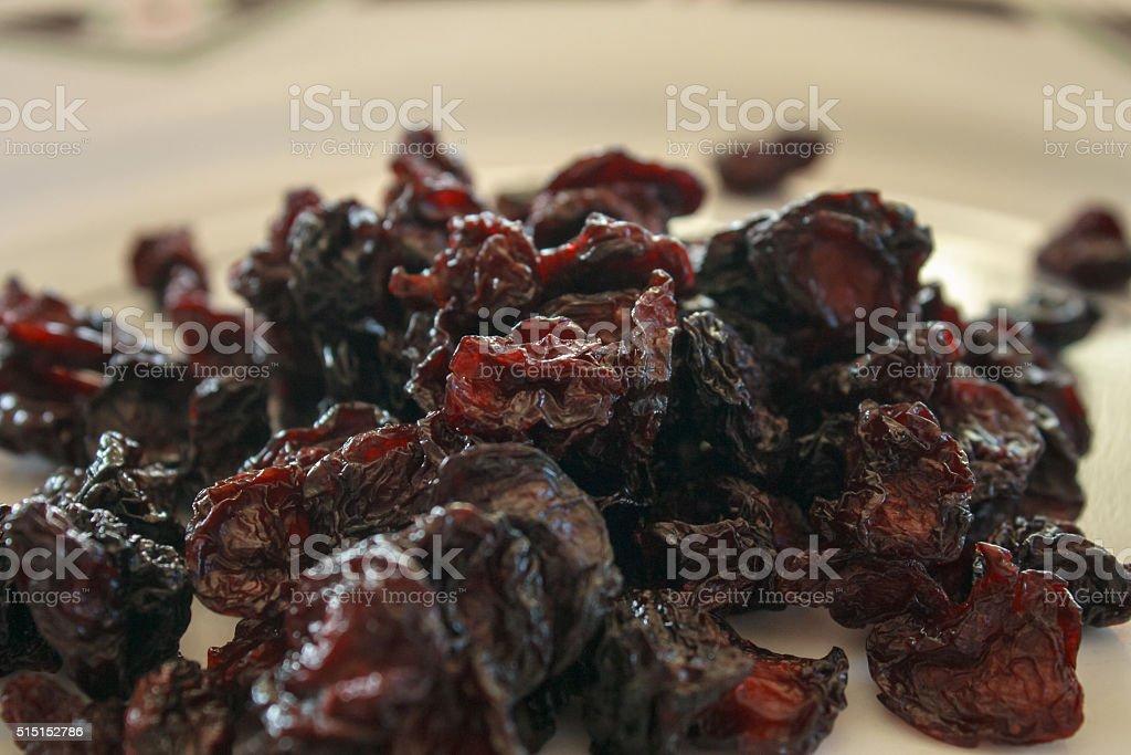 Dried Montmorency Cherries stock photo