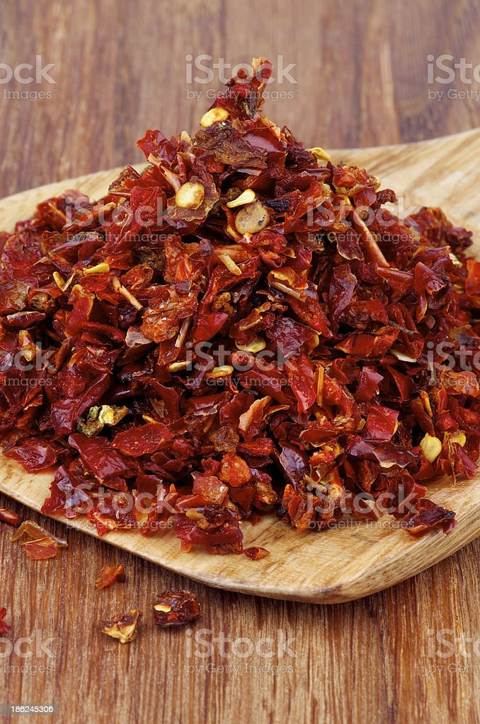 Dried Paprika royalty-free stock photo