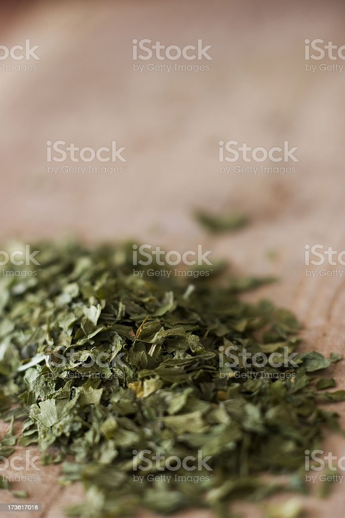 dried persley royalty-free stock photo