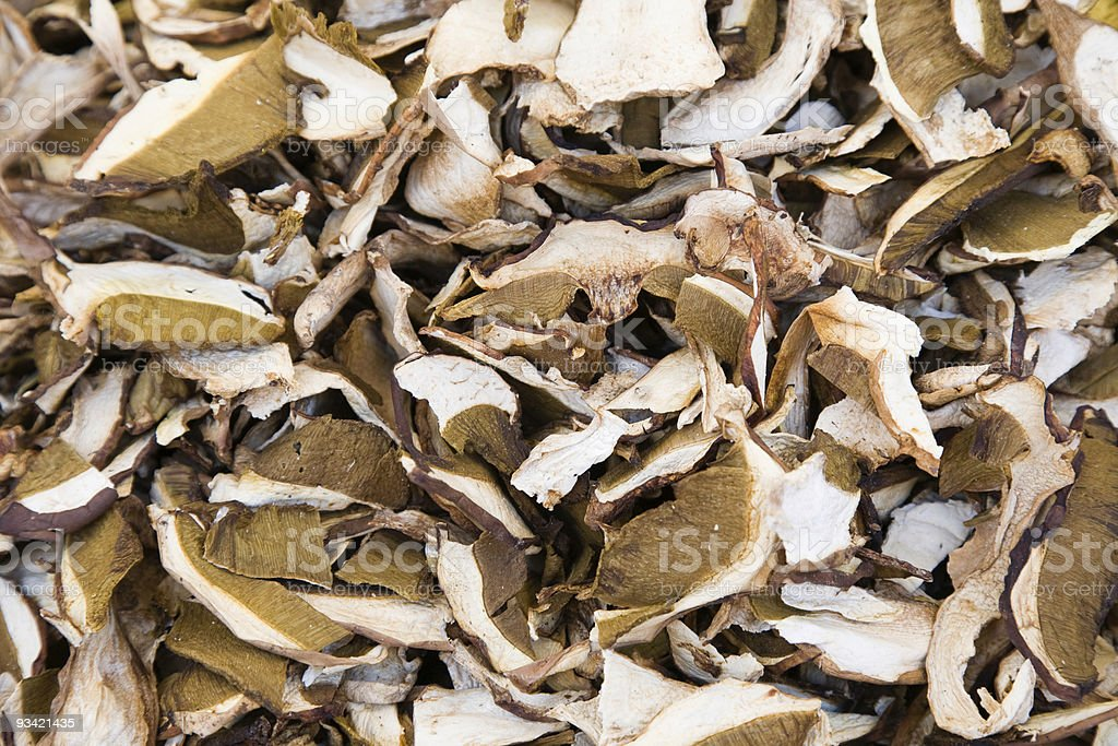 Dried Porcini royalty-free stock photo