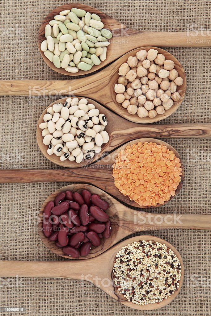 Dried Pulses stock photo
