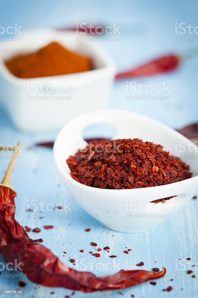 Dried Red Chilli royalty-free stock photo