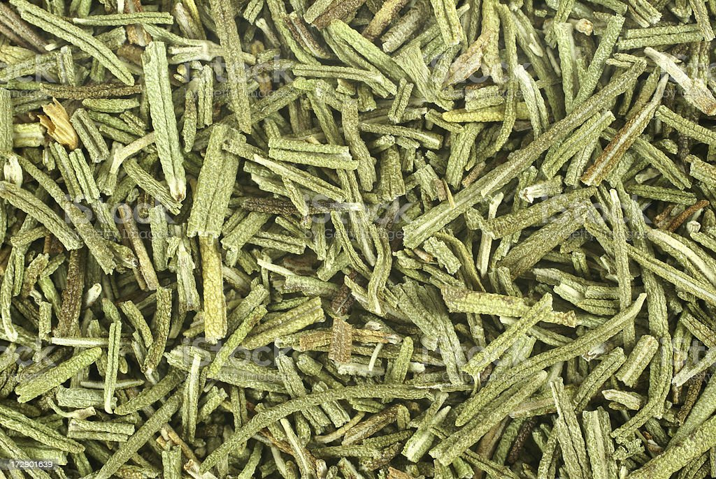 dried rosemary food background royalty-free stock photo