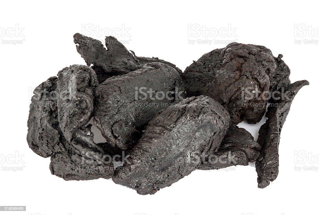 Dried Shu Di Huang or Rehmannia Glutinosa Root stock photo