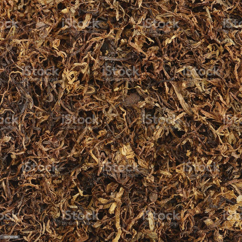 dried smoking tobacco royalty-free stock photo