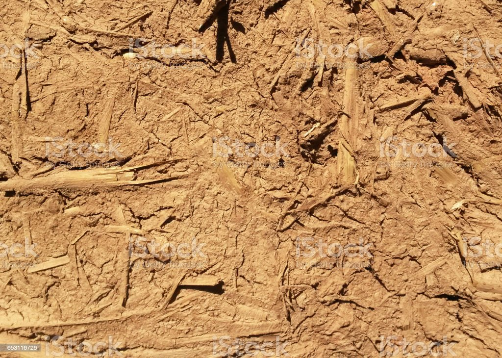 Dried Soil Background stock photo