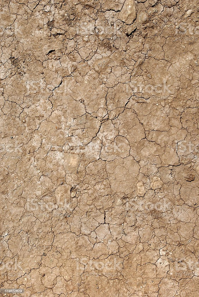 Dried Soil (Click for more) stock photo