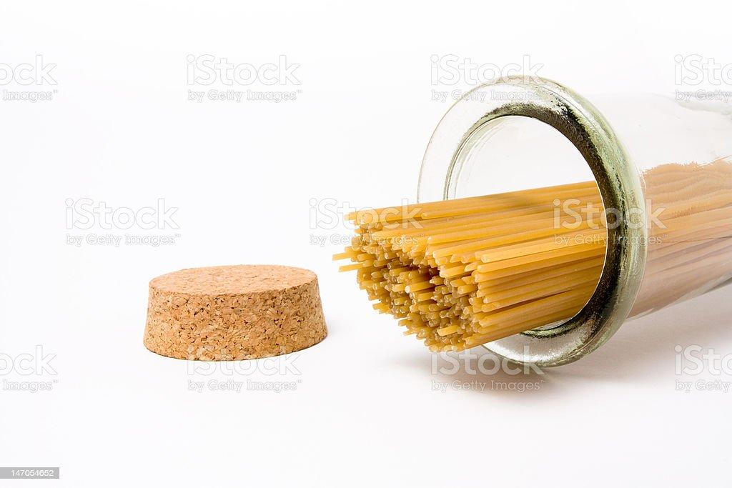 Dried Spaghetti royalty-free stock photo