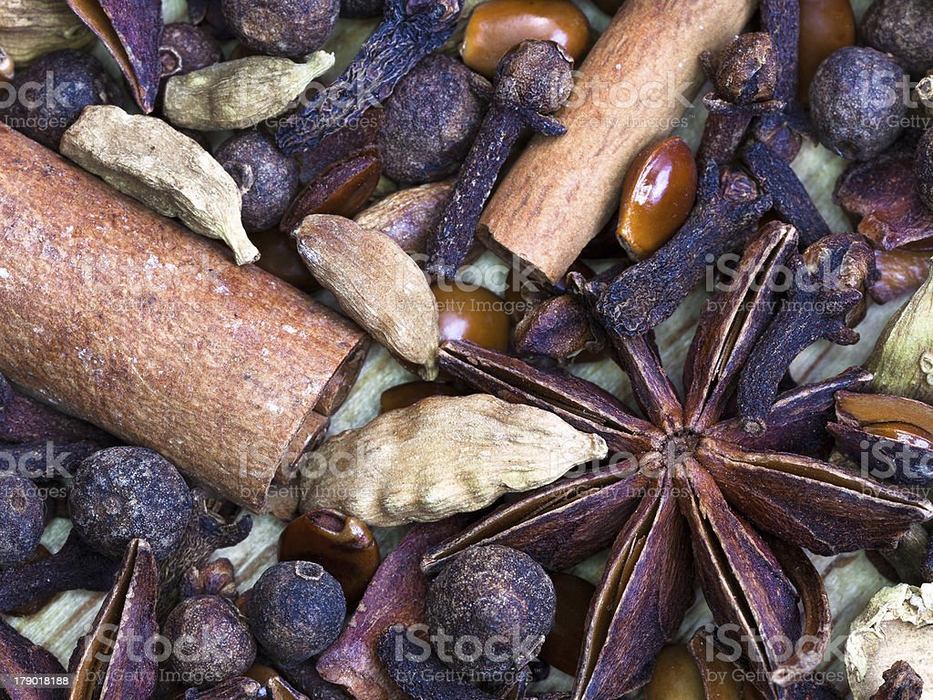 dried spices royalty-free stock photo