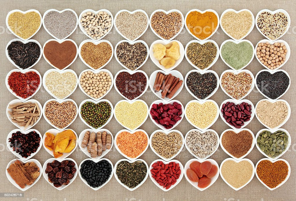 Dried Super Health Food stock photo