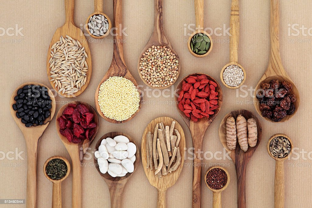 Dried Super Health Food stock photo