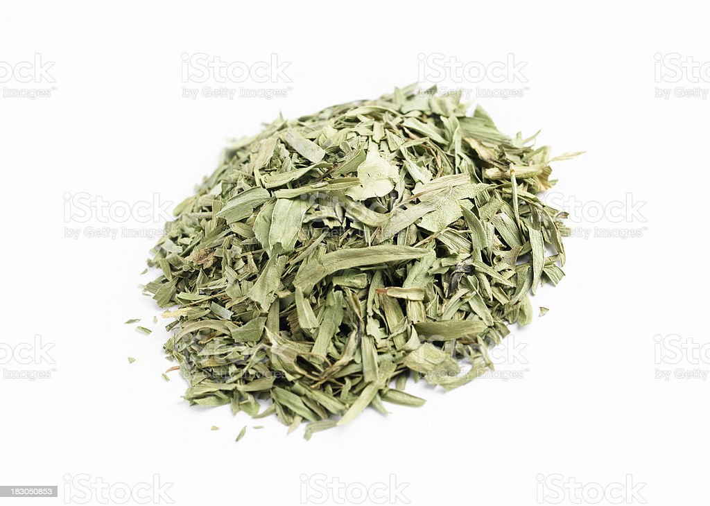 Dried Tarragon royalty-free stock photo