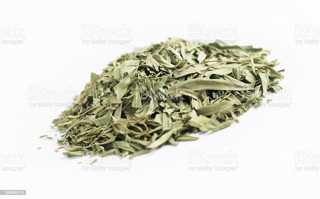 Dried Tarragon stock photo