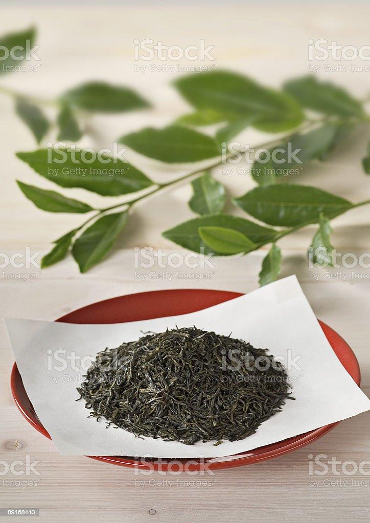 Сушеные Чайные листья Стоковые фото Стоковая фотография