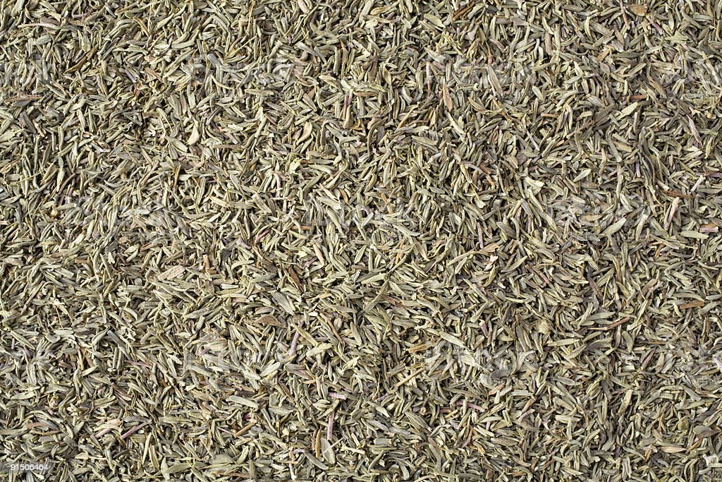 Dried Thyme stock photo