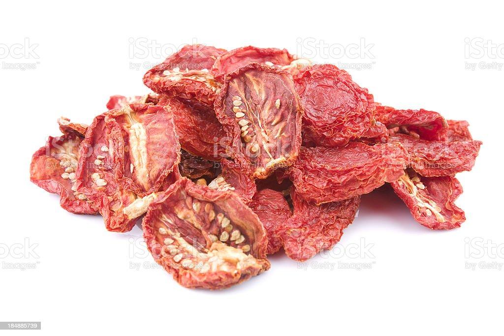 Dried tomato stock photo
