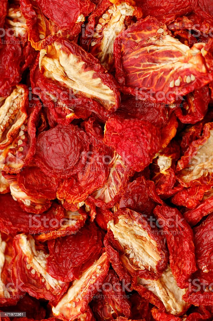 Dried Tomatoes royalty-free stock photo