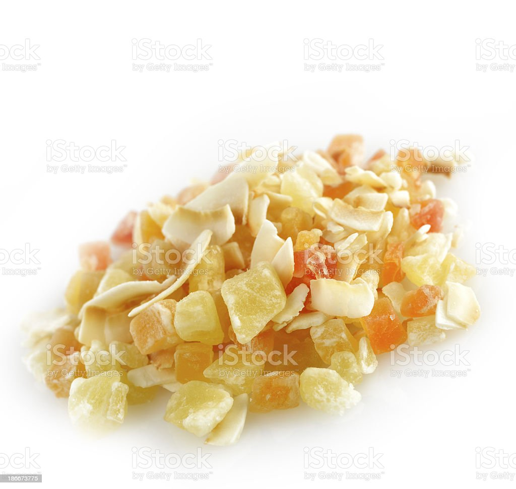 Dried Tropical Fruits royalty-free stock photo