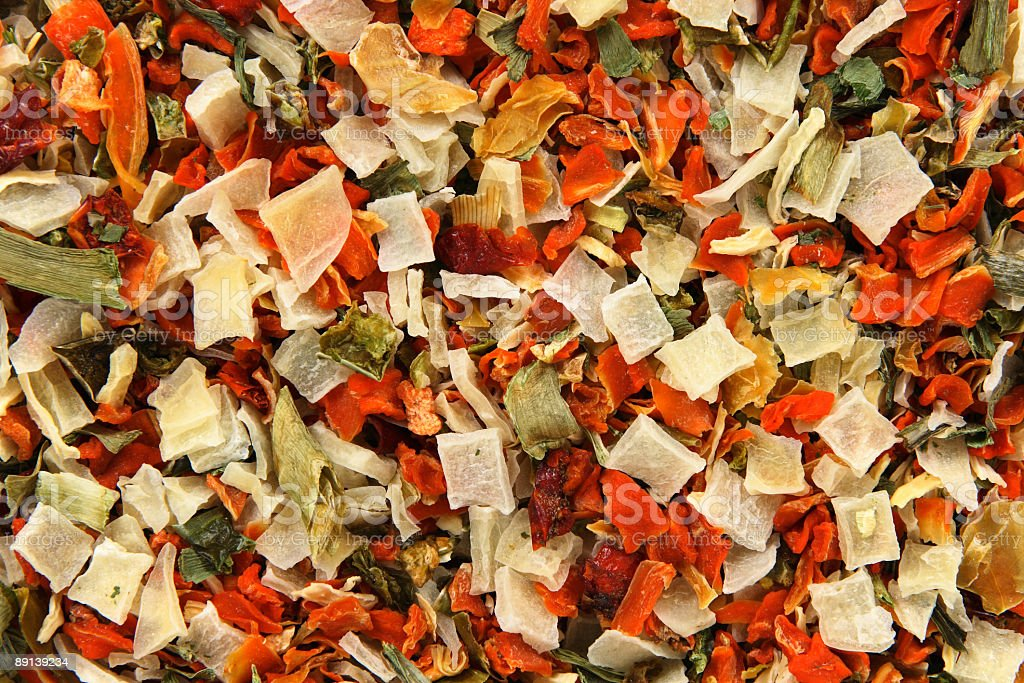 Dried vegetables background royalty-free stock photo