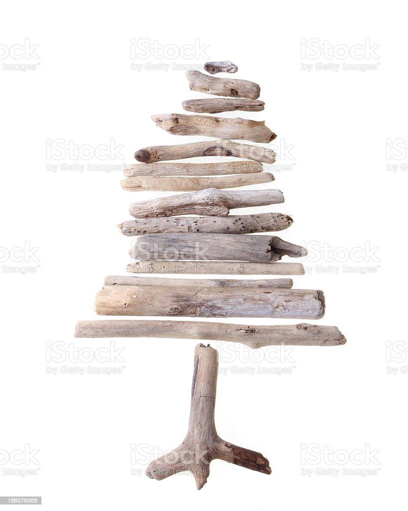 Drift wood tree royalty-free stock photo