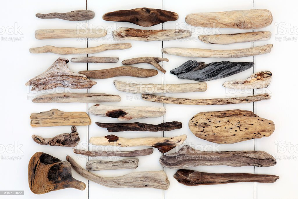 Driftwood Abstract stock photo