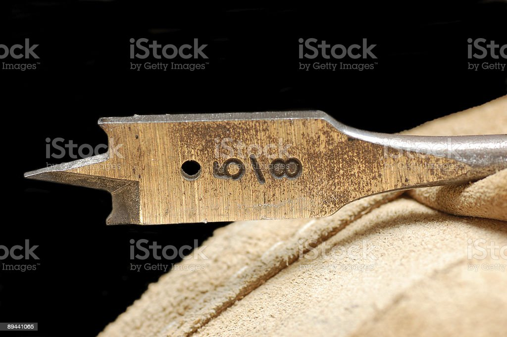 Drill Bit 5-8 Inch royalty-free stock photo