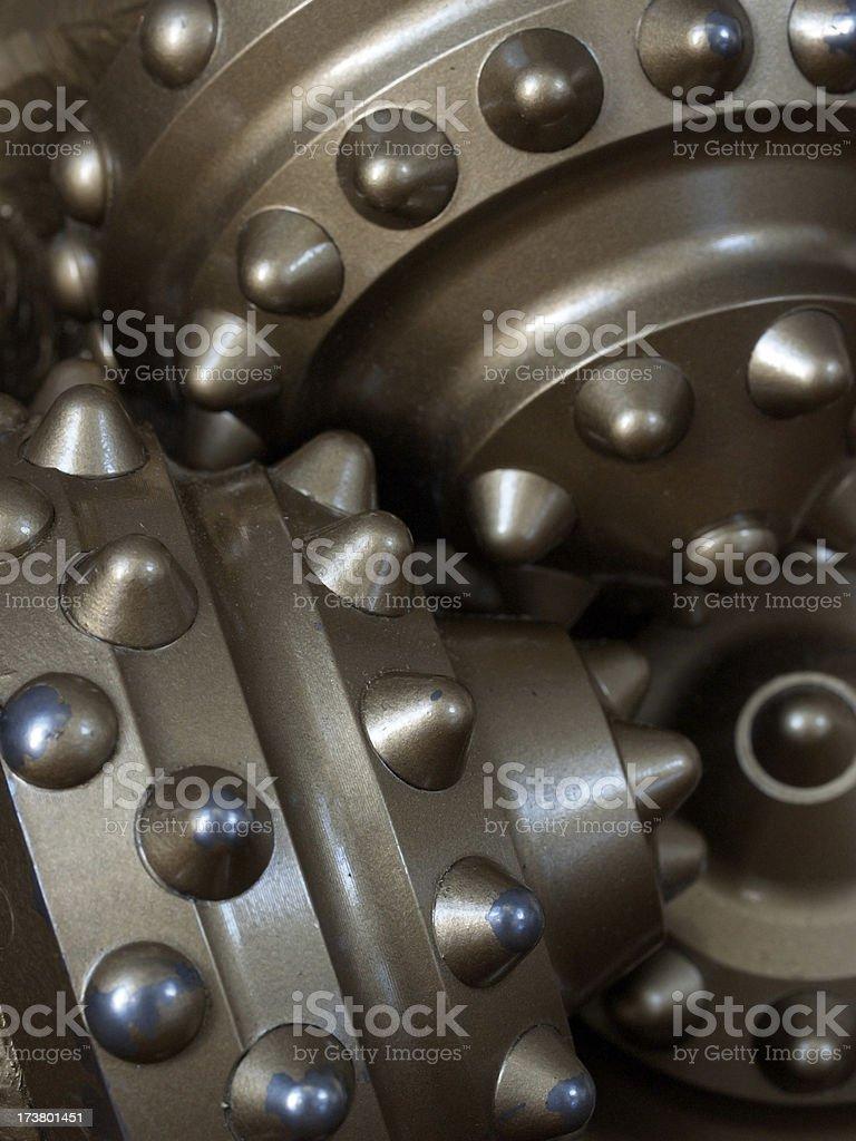 drill bit detail royalty-free stock photo