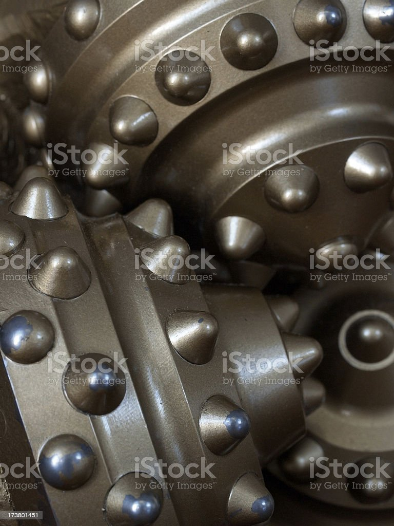 drill bit detail stock photo