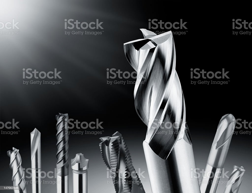 drill bit royalty-free stock photo