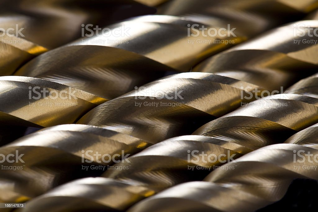 Drill Bits royalty-free stock photo