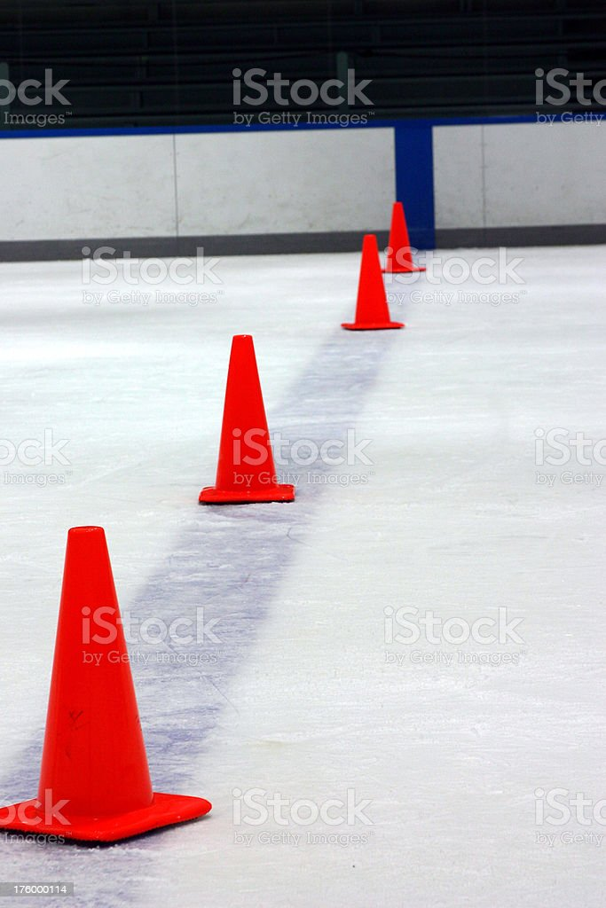 drill cones royalty-free stock photo