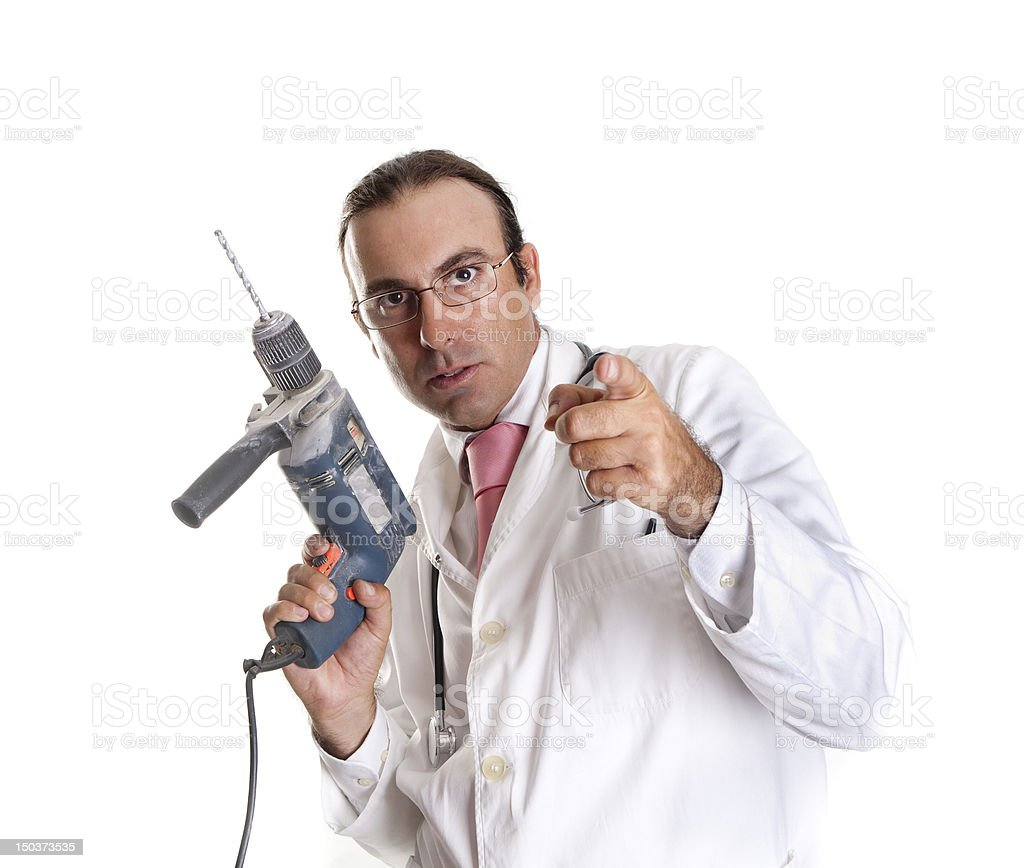 drill doctor royalty-free stock photo