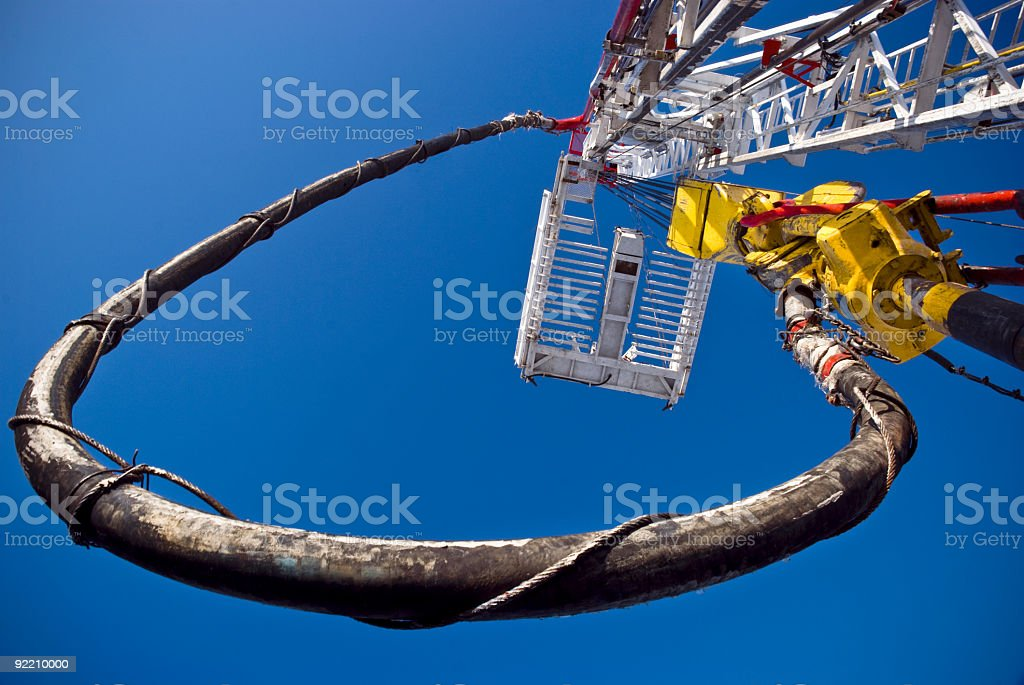 Drill Drive stock photo