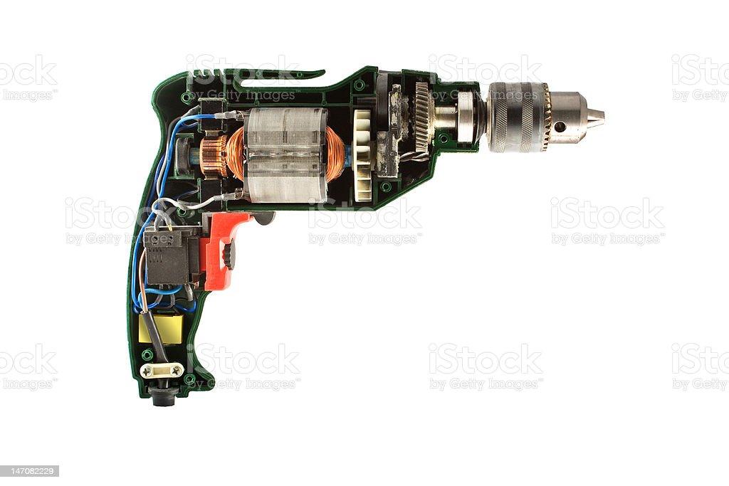 drill parts stock photo
