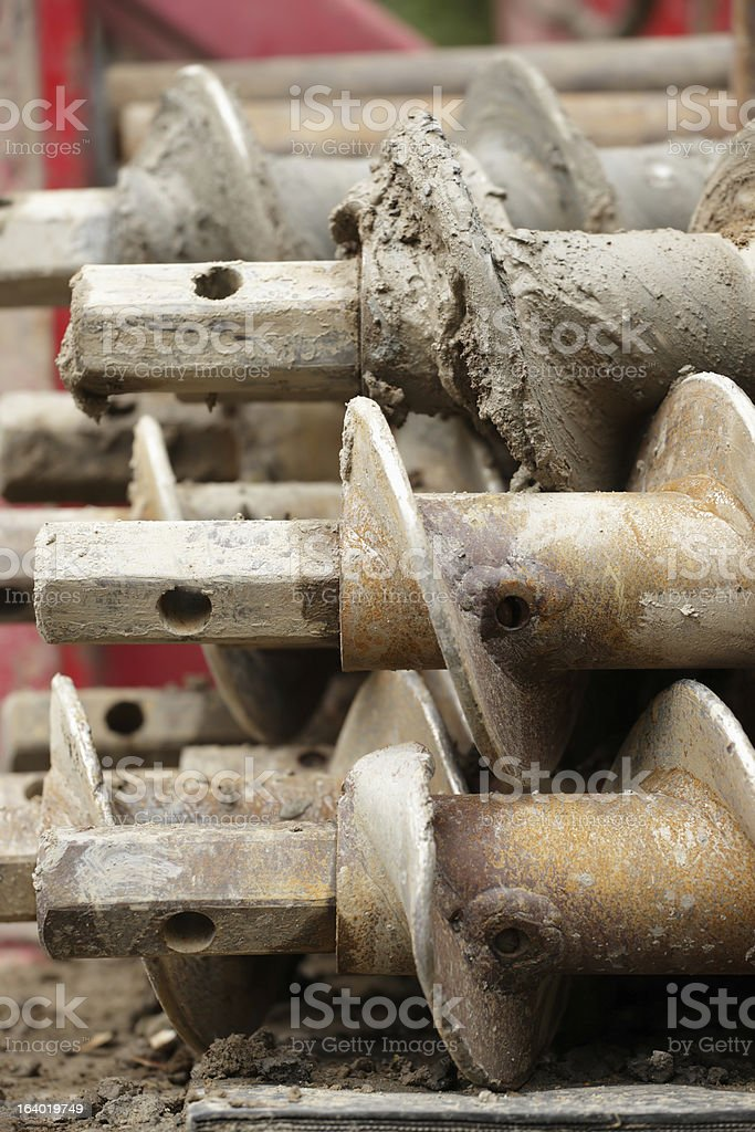 Drill stock photo