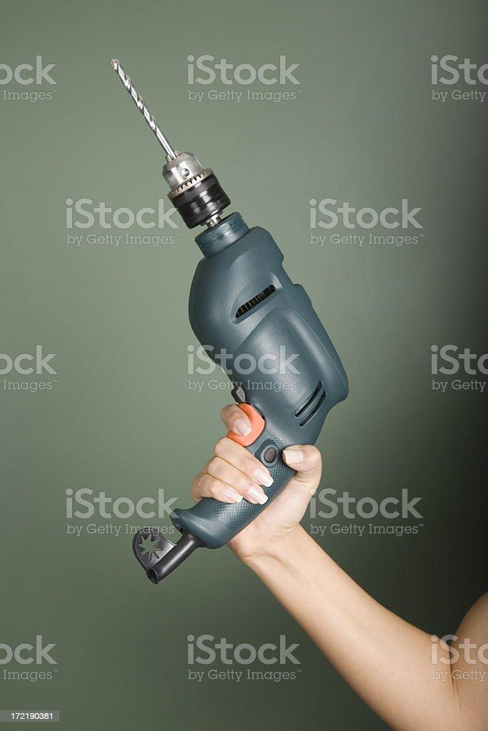 Drill royalty-free stock photo