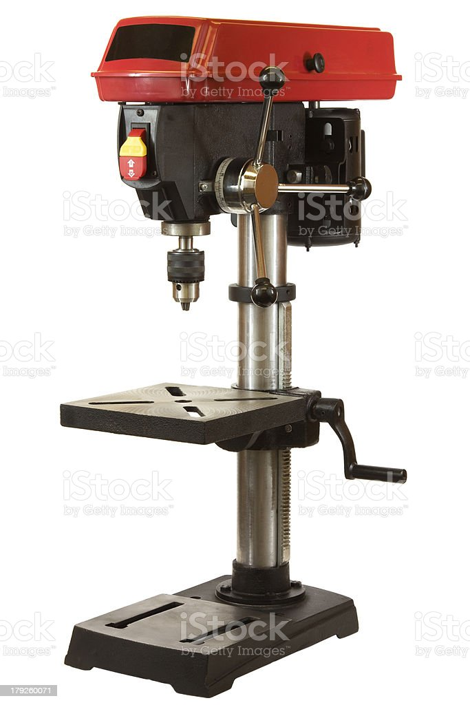 Drill Press royalty-free stock photo