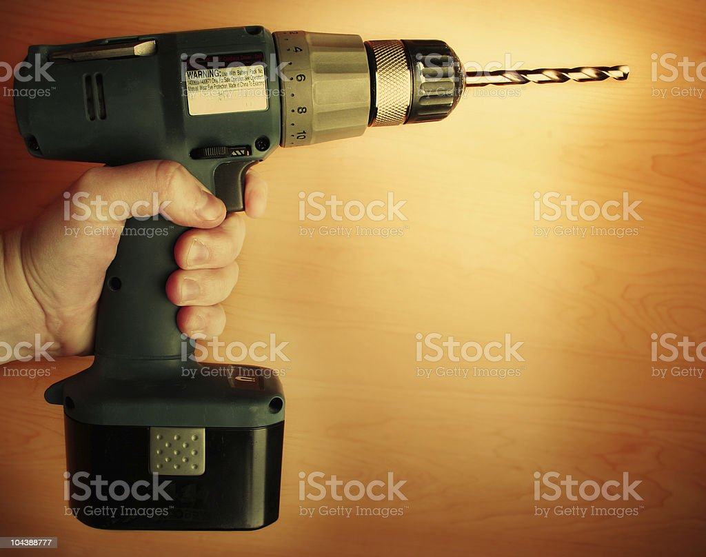 drill_02 royalty-free stock photo